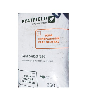 Peatfield торф кислий 250 л